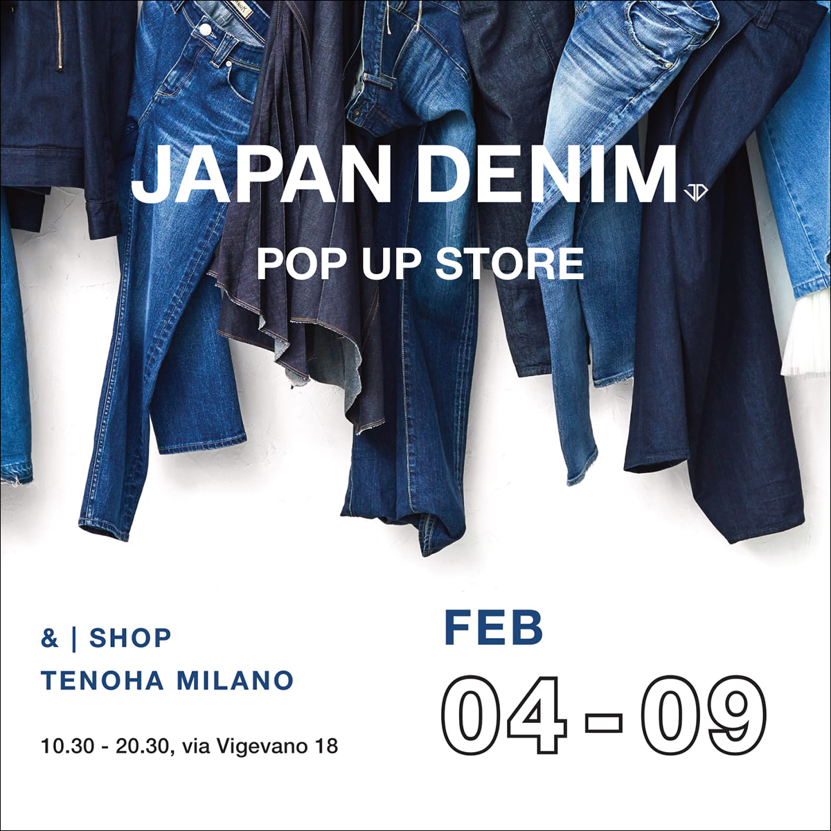 [PRODUCT] POP UP STORE OPEN !    4th-9th Feburuary 2020 at TENOHA MILANO (Via Vigevano, 18 – Milano Italy)